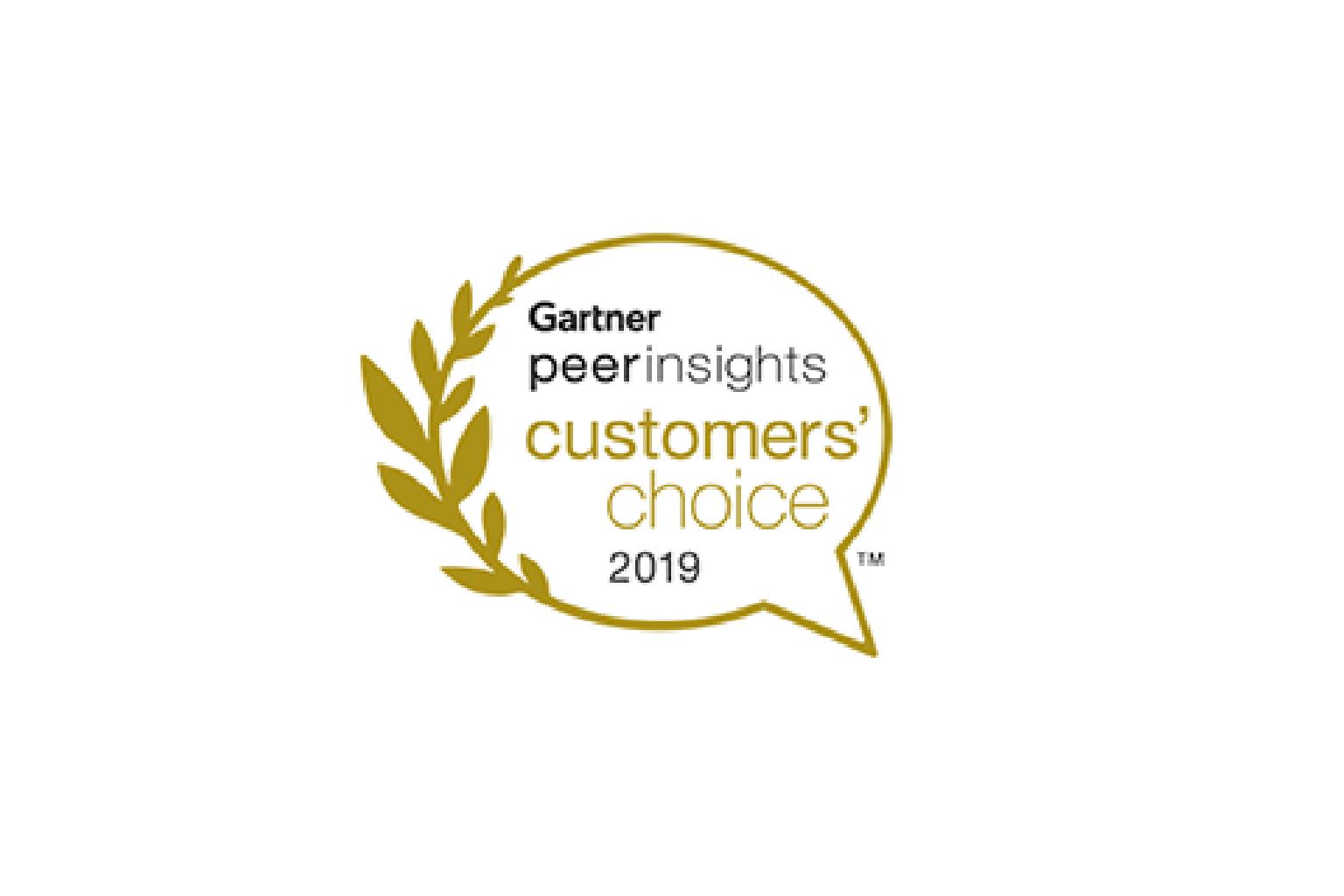 Gartner peer insights customers choice 2019