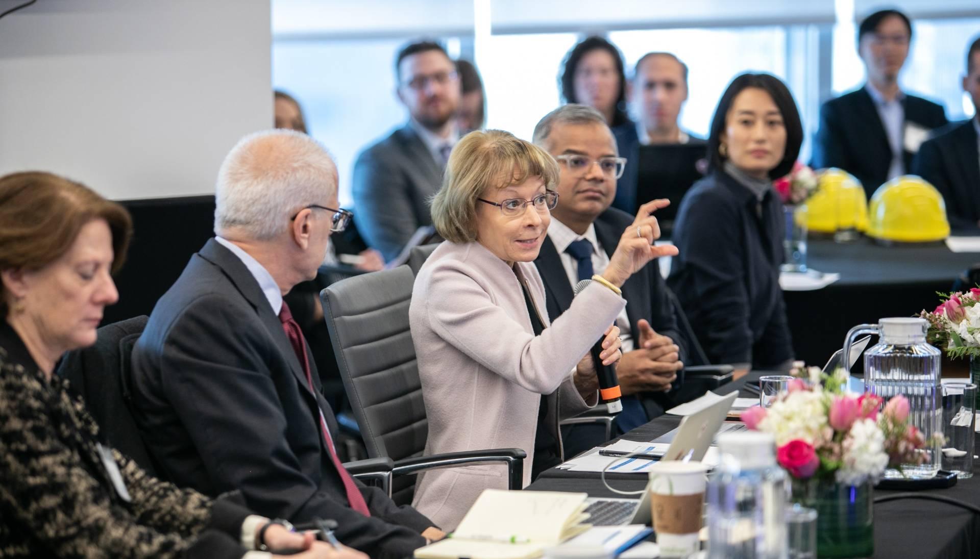 Nancy McKinstry at the Global Innovation Awards 2019