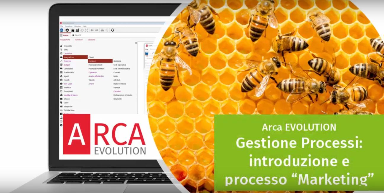 """Arca EVOLUTION - Demo Gestione Processi: introduzione e processo """"Marketing"""""""