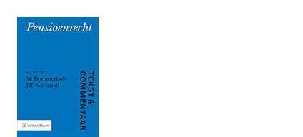 Cover Tekst en Commentaar Pensioenrecht