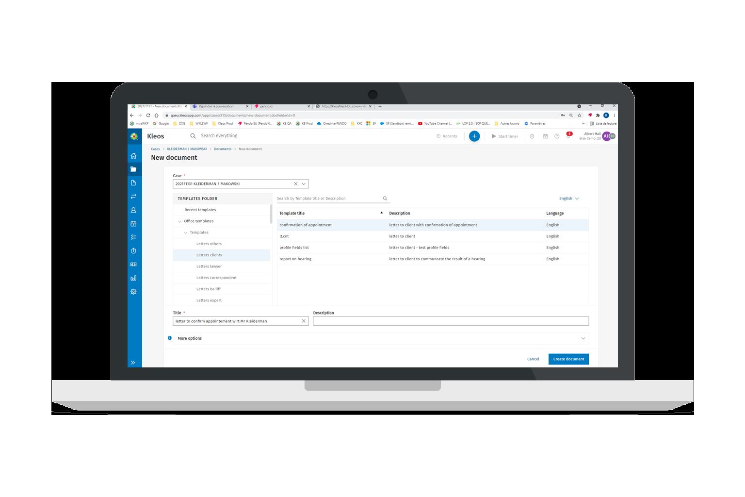 Kleos Document Email Management NL
