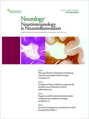 Neurology Neuroimmunology & Neuroinflammation