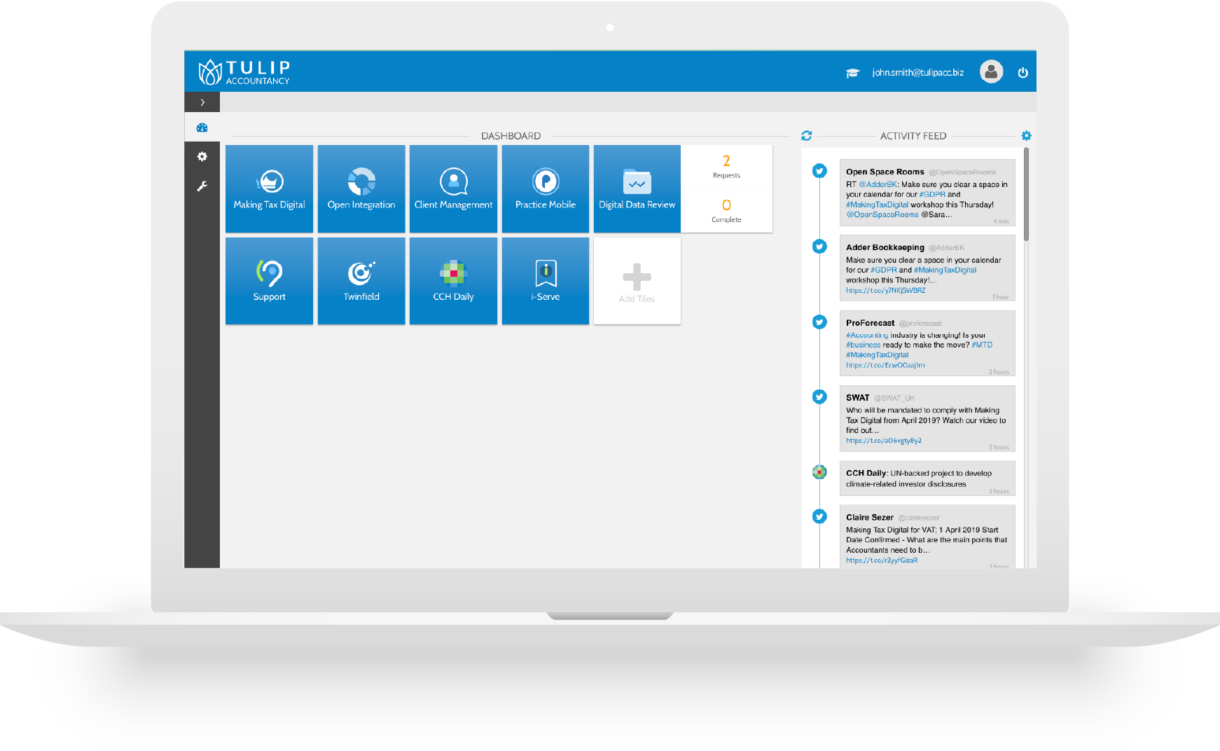 CCH OneClick Dashboard