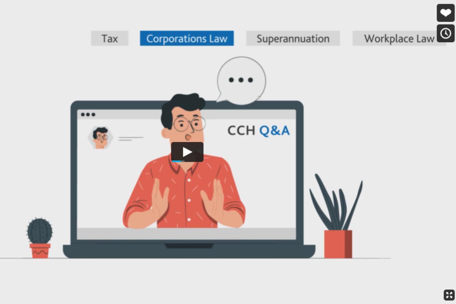 CCH Q & A 2021 Video