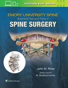 Emory University Spine Illustrated Tips and Tricks in Spine Surgery book cover