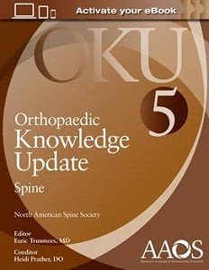 Orthopaedic Knowledge Update: Spine 5 book cover