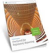 OneSumX Regulatory Reporing Overview Brochure