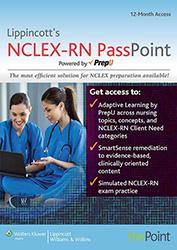 Lippincott's MCLEX-RN PassPoint book cover