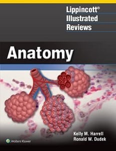 Lippincott Illustrated Reviews: Anatomy book cover