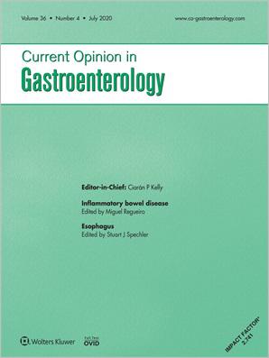 Current Opinion in Gastroenterology