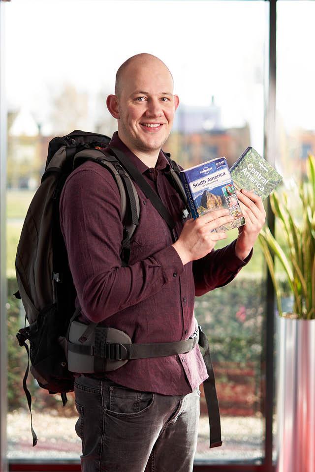 Berry van Asch toont reisgidsen
