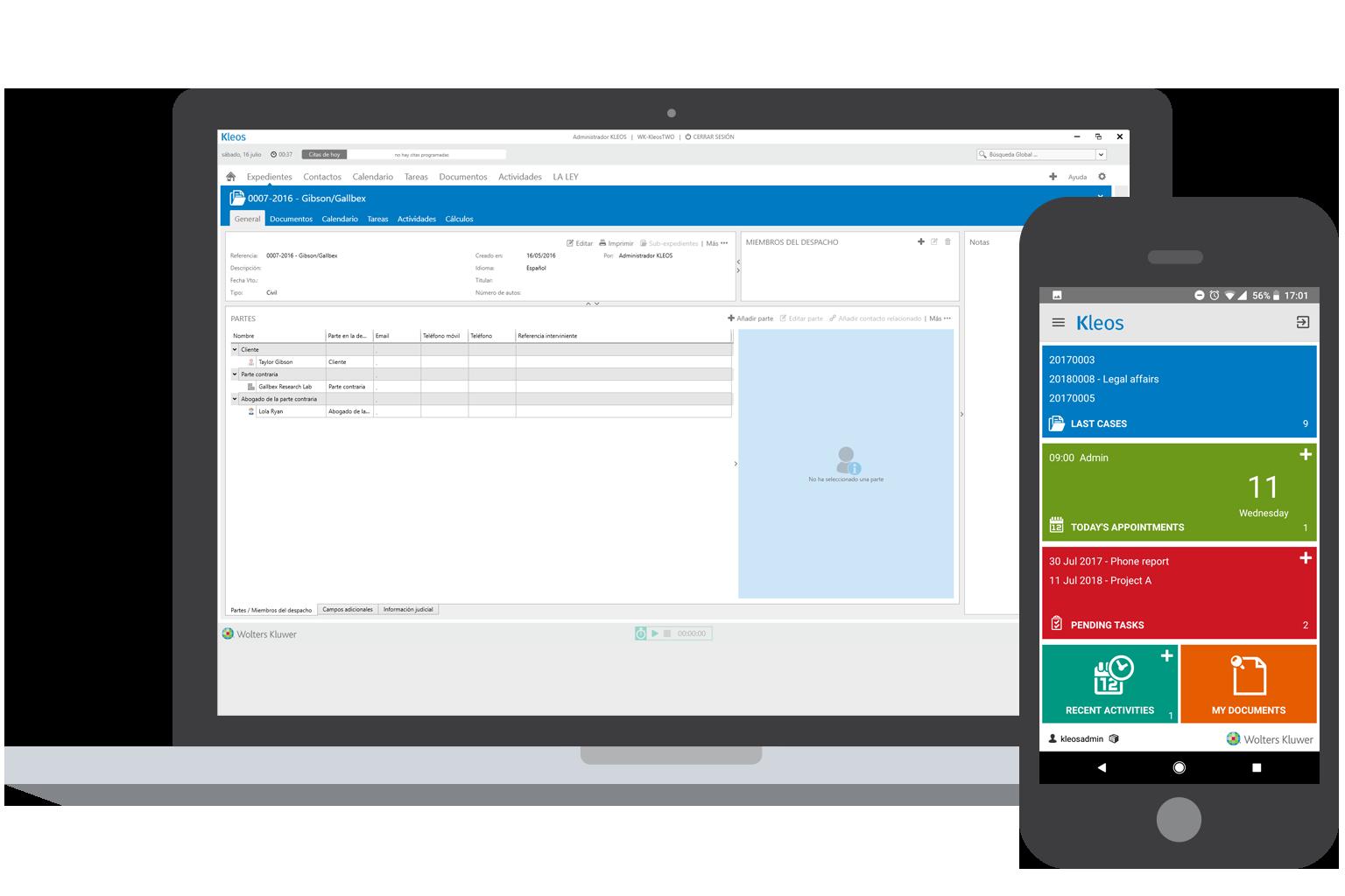 case management | software para la gestion de contratos en la nube