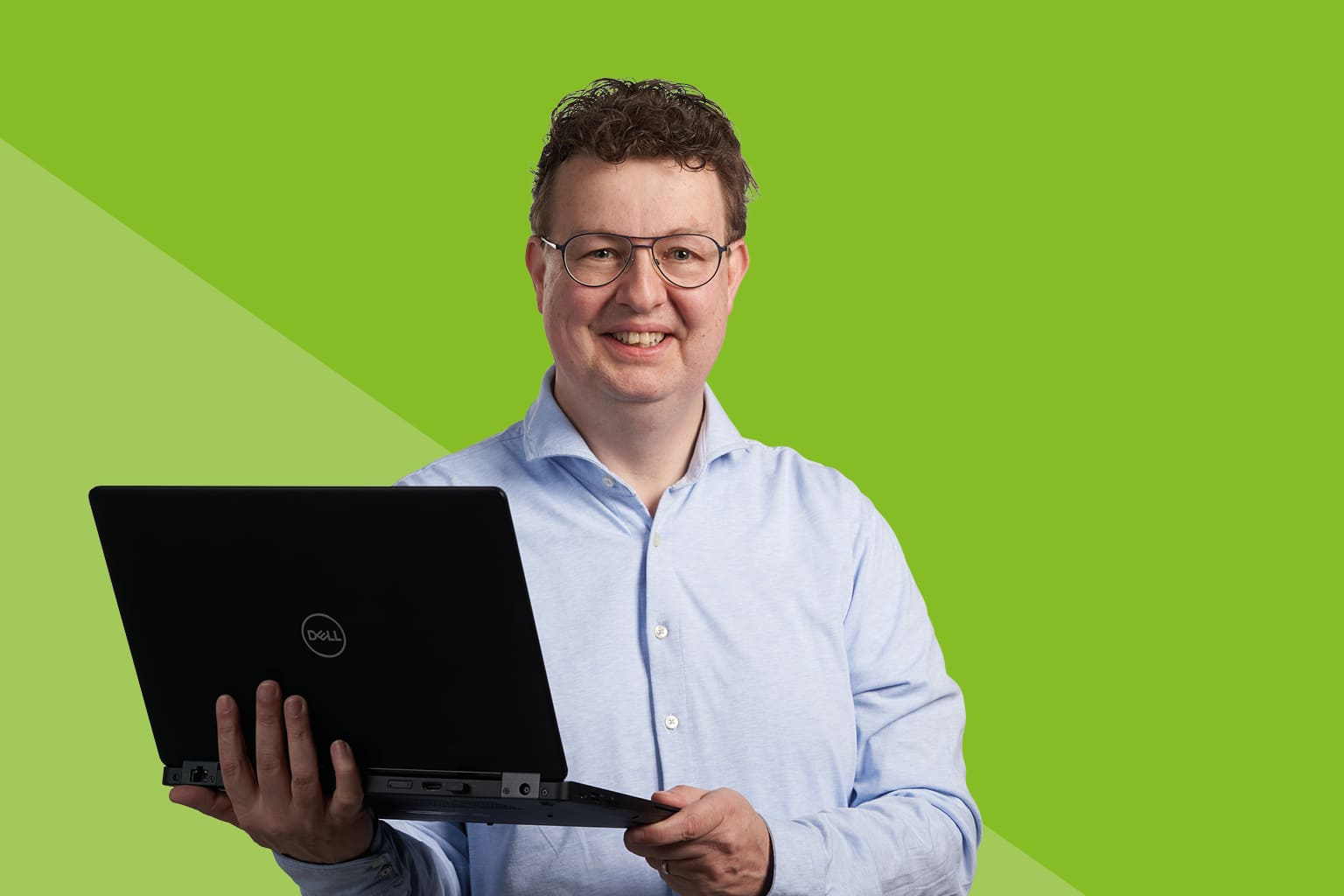 Martin van Lies van Twinfield geeft online demo