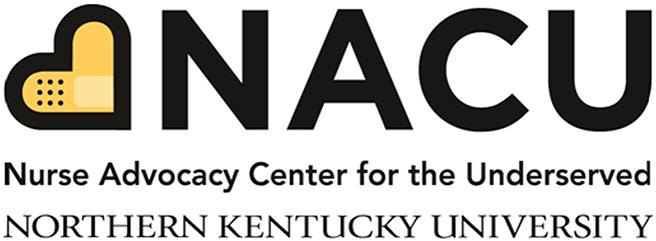 NACU, Nurse Advocacy Center for the Underserved, Northern Kentucky University logo