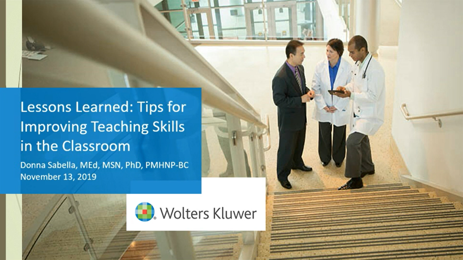 Screenshot of Lessons learned: Tips for improving teaching skills in the classroom video