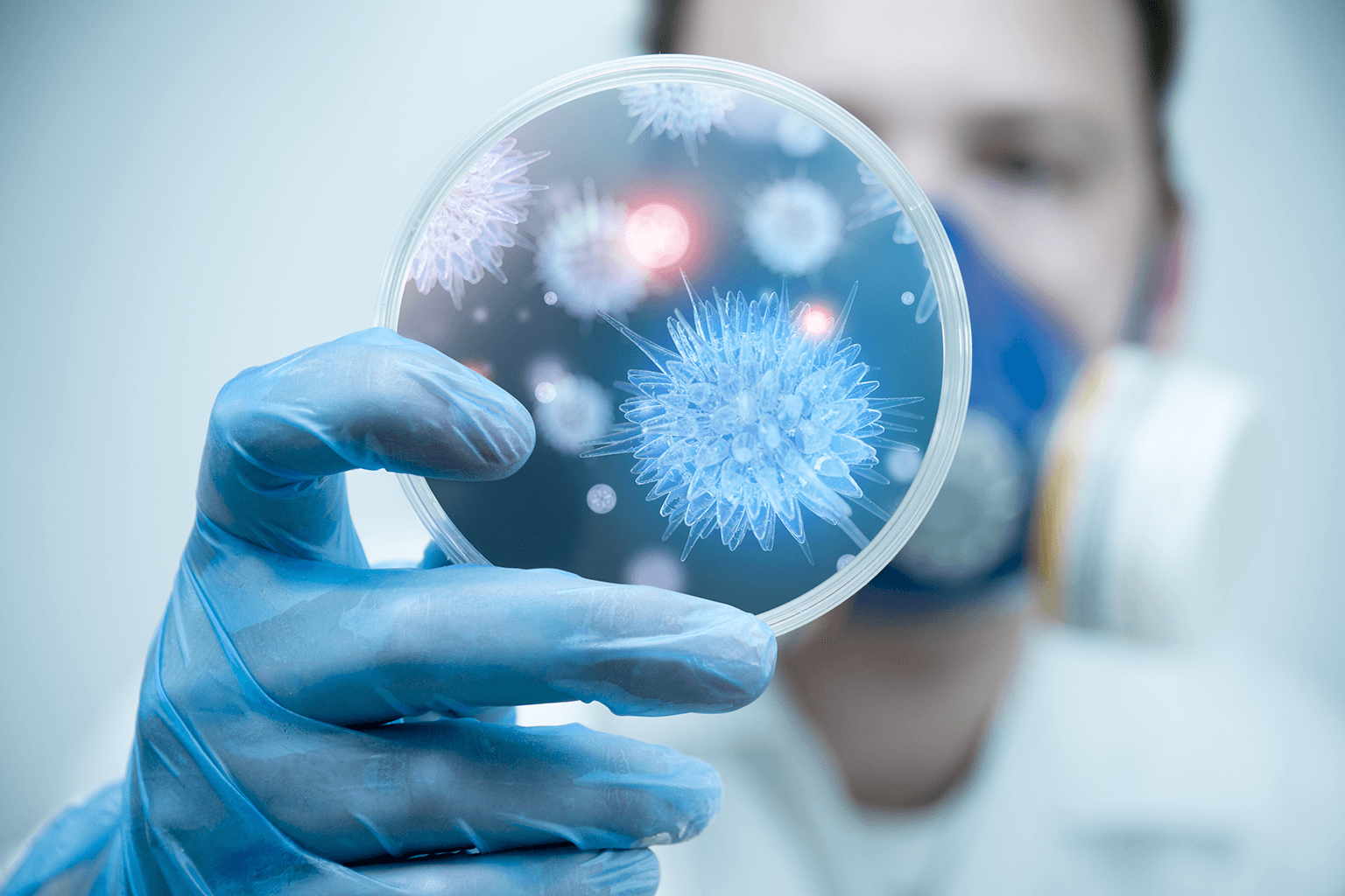 infection-prevention-healthcare-associated-infections-clinician-reviewing-microbes
