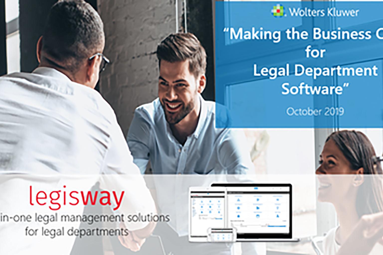 Legisway-legal department software webinar