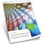 OneSumX for Regulatory Reporting Overview Brochure