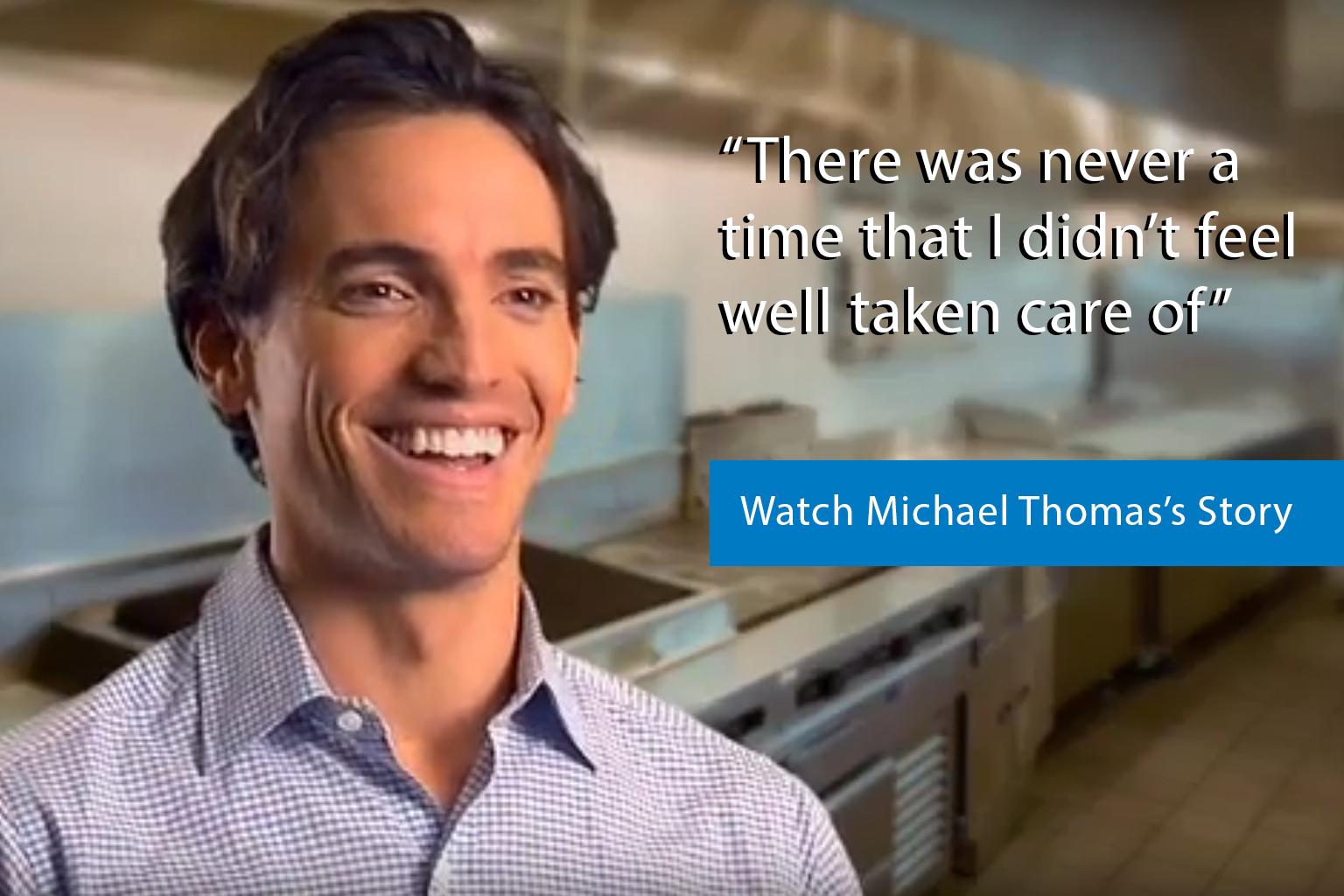 Michael Thomas Story