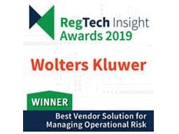 Operational Risk - RegTech Award