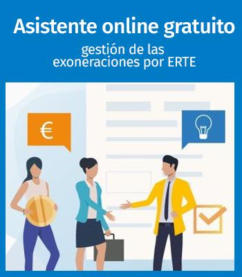 Exoneraciones ERTEs: Asistente online gratuito