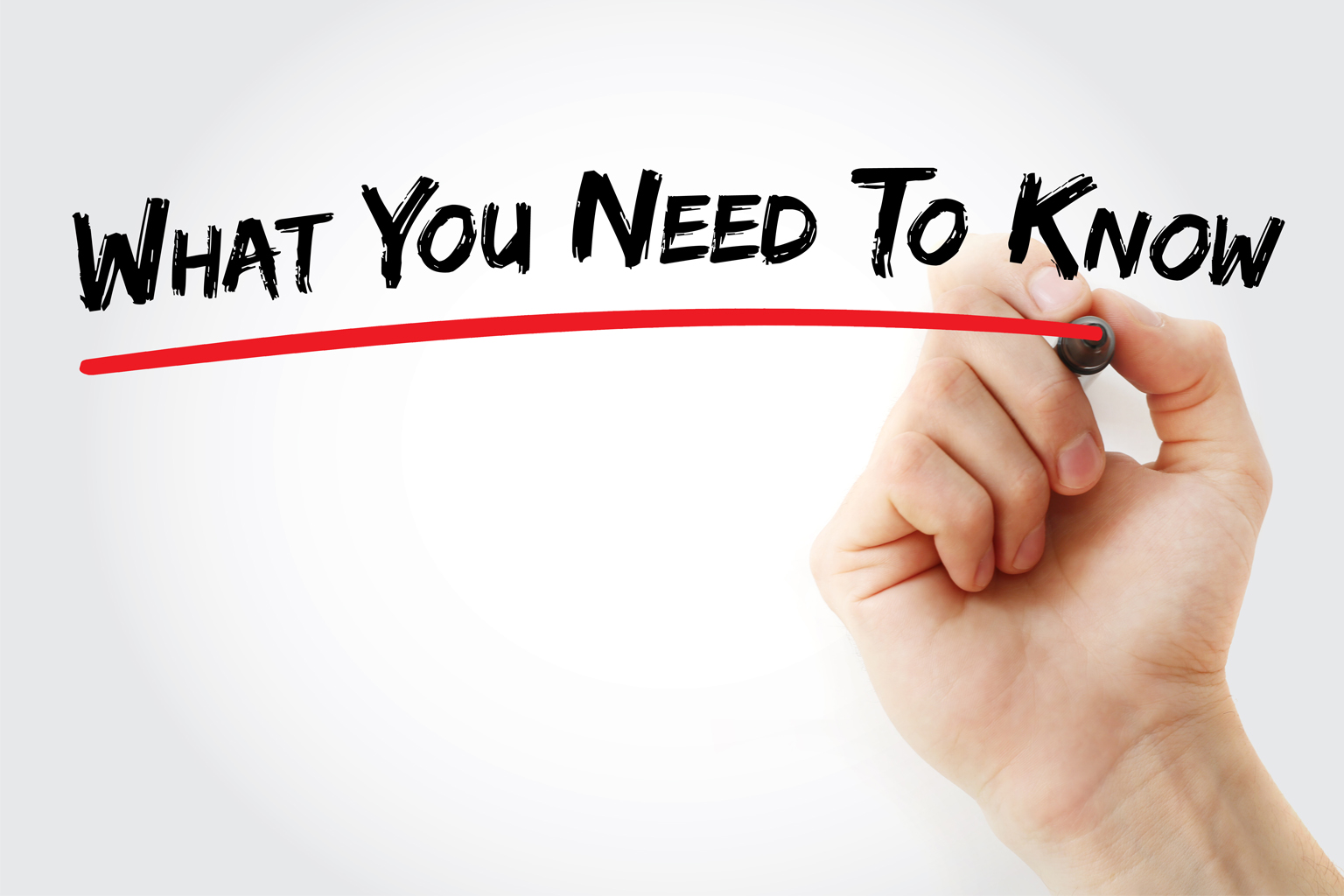 Hand writing What you need to know