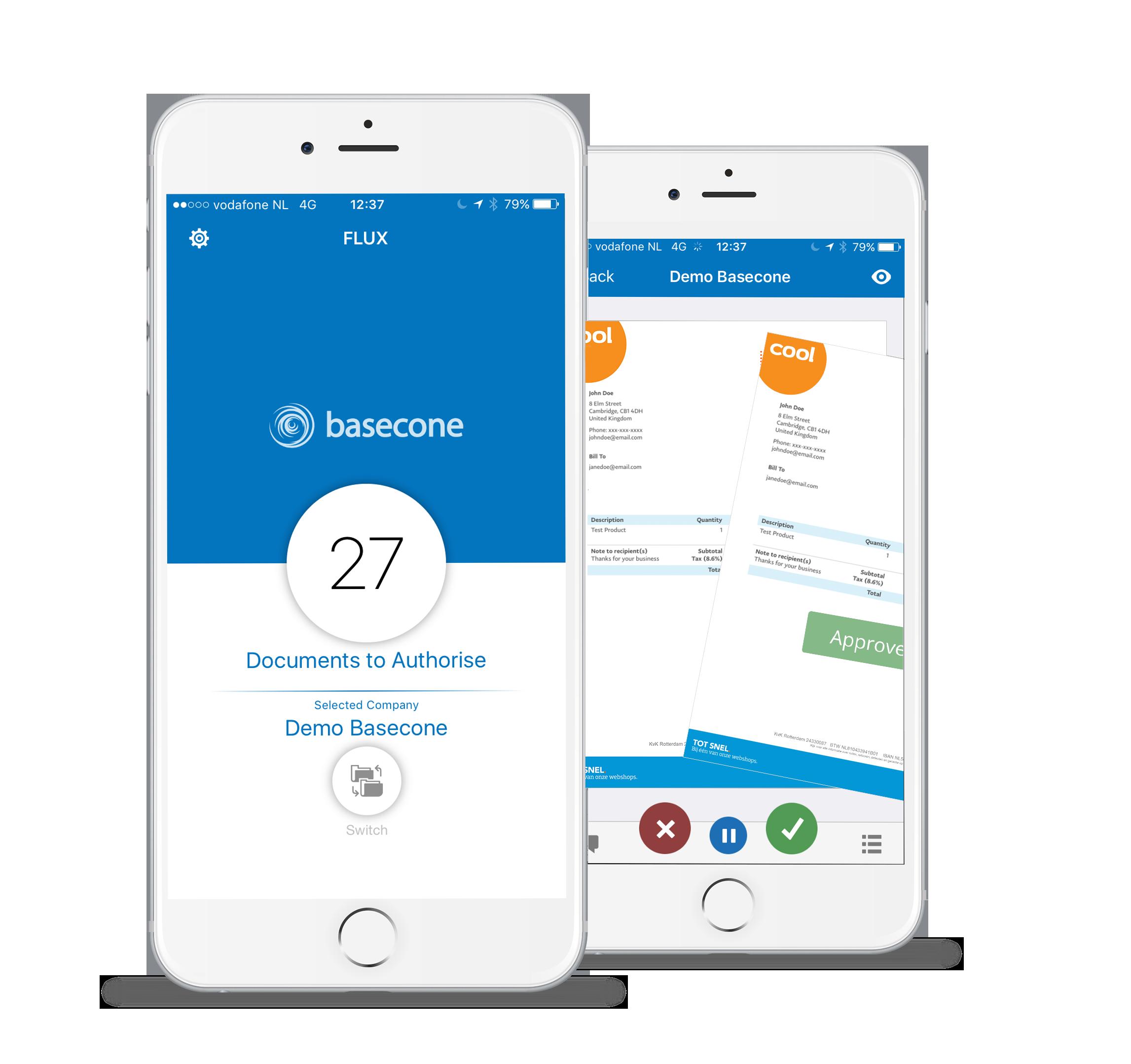Basecone Receipt Scanner App
