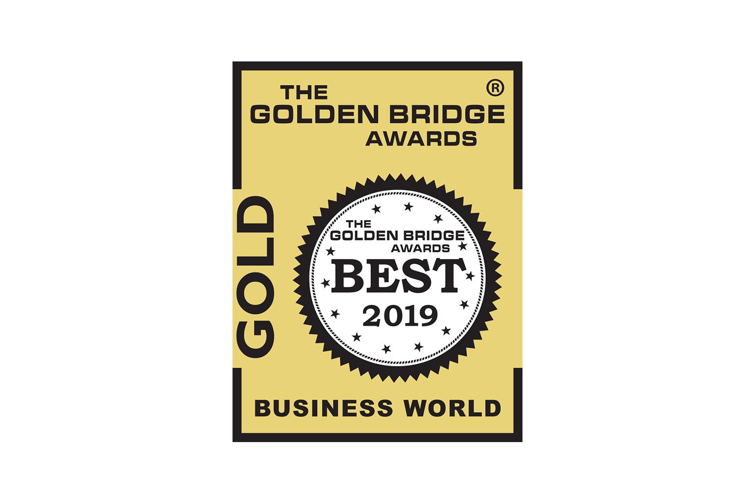 2019 Golden Bridge Gold Award