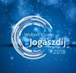 Wolters Kluwer Jogászdíj - 2018 - logo