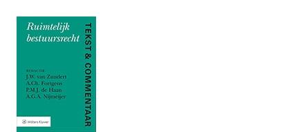 Cover Tekst en Commentaar Ruimtelijk bestuursrecht