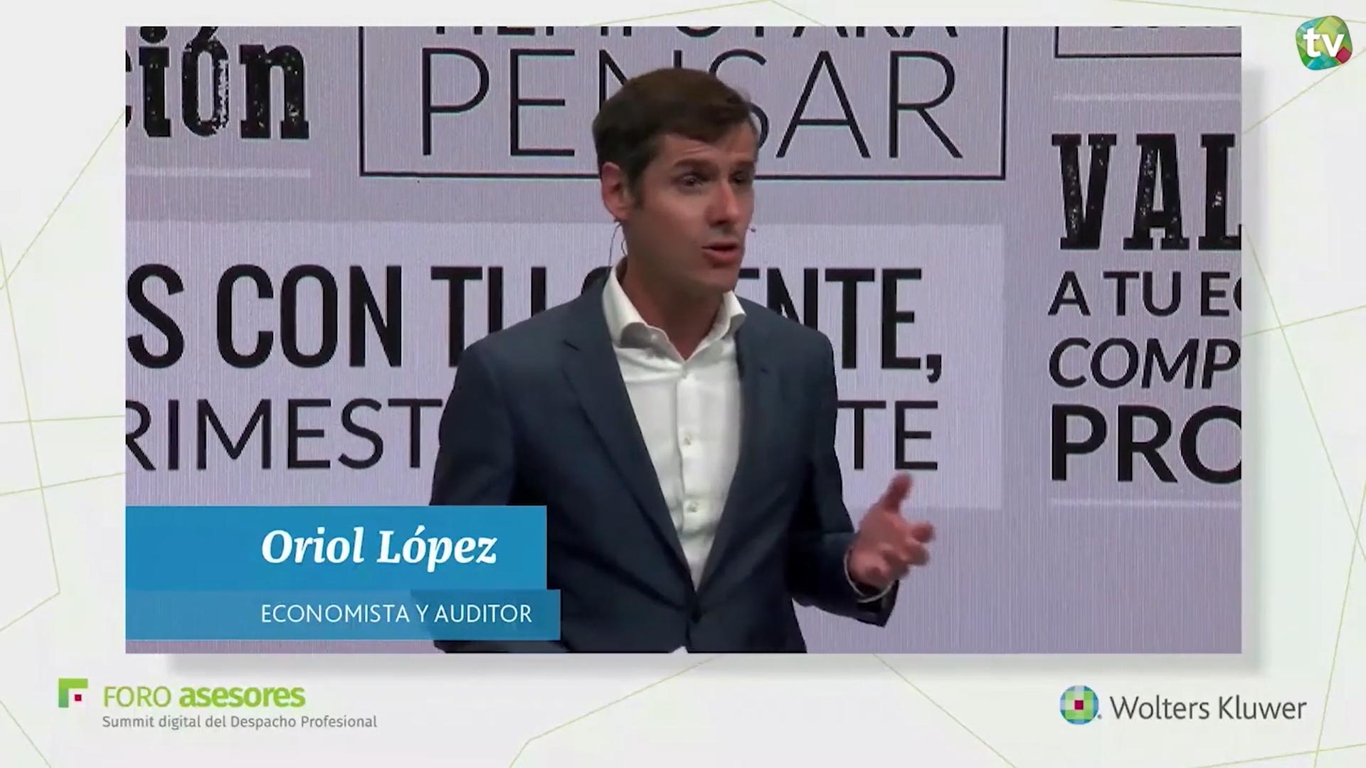 """Oriol López, asesor de profesionales y empresarios y autor del libro """"El empresario proactivo"""","""