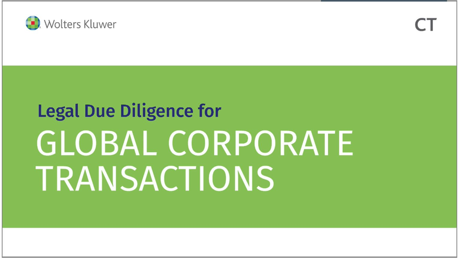 Legal Due Diligence for Global Corporate Transactions