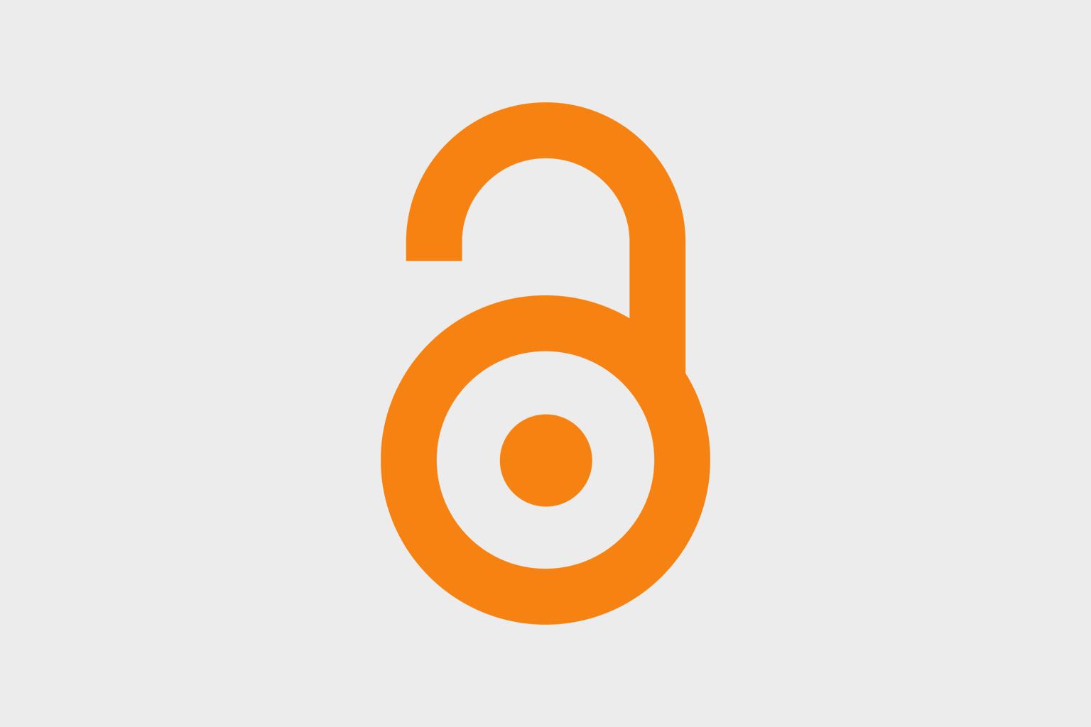 Open access lock logo