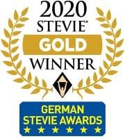 Stevie Award 2020 gold