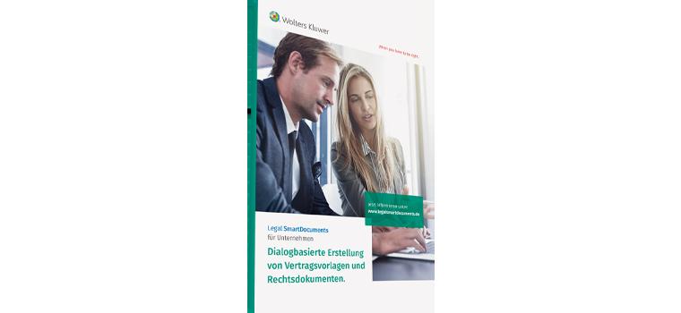 Legal SmartDocuments Broschüre Unternehmen