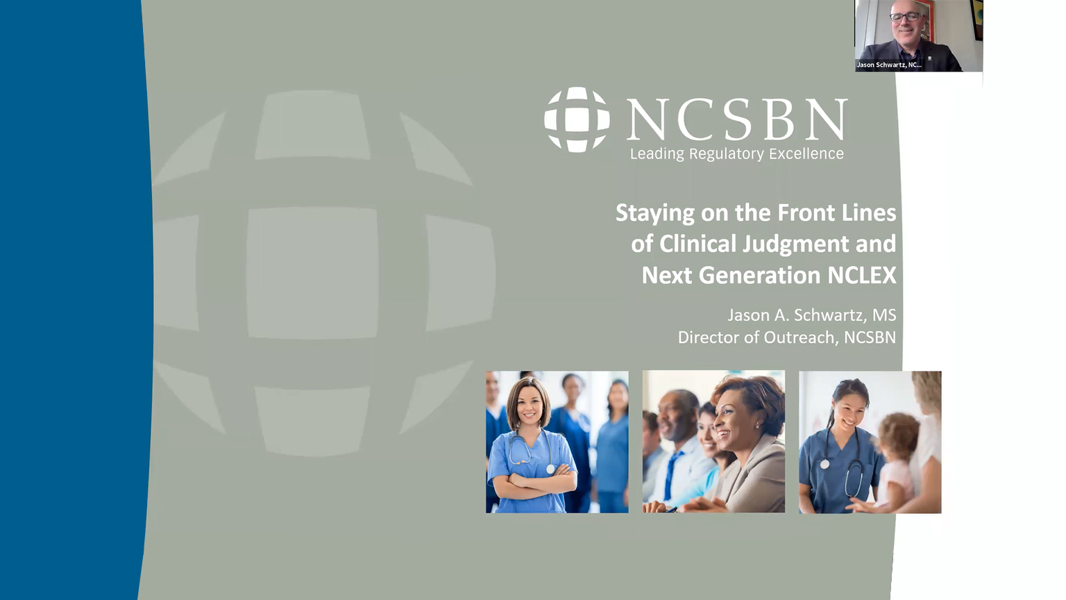 Screenshot of Stay on the front line of clinical judgement and next generation NCLEX video