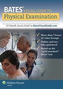 Bates' Visual Guide to Physical Examination book cover