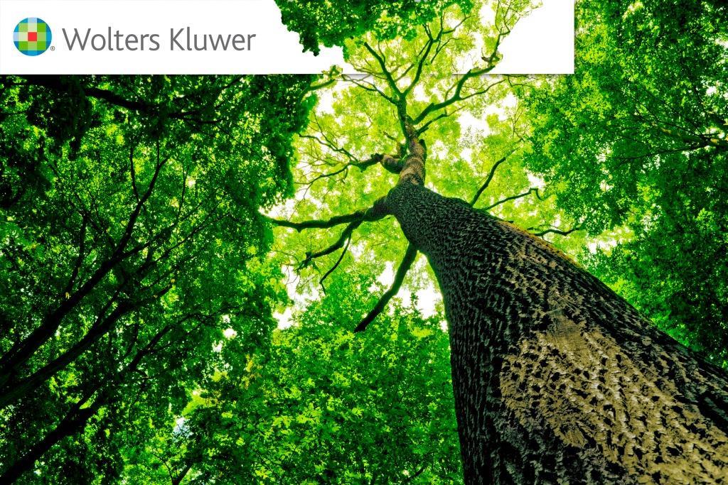 desempeño mediambiental Wolters Kluwer