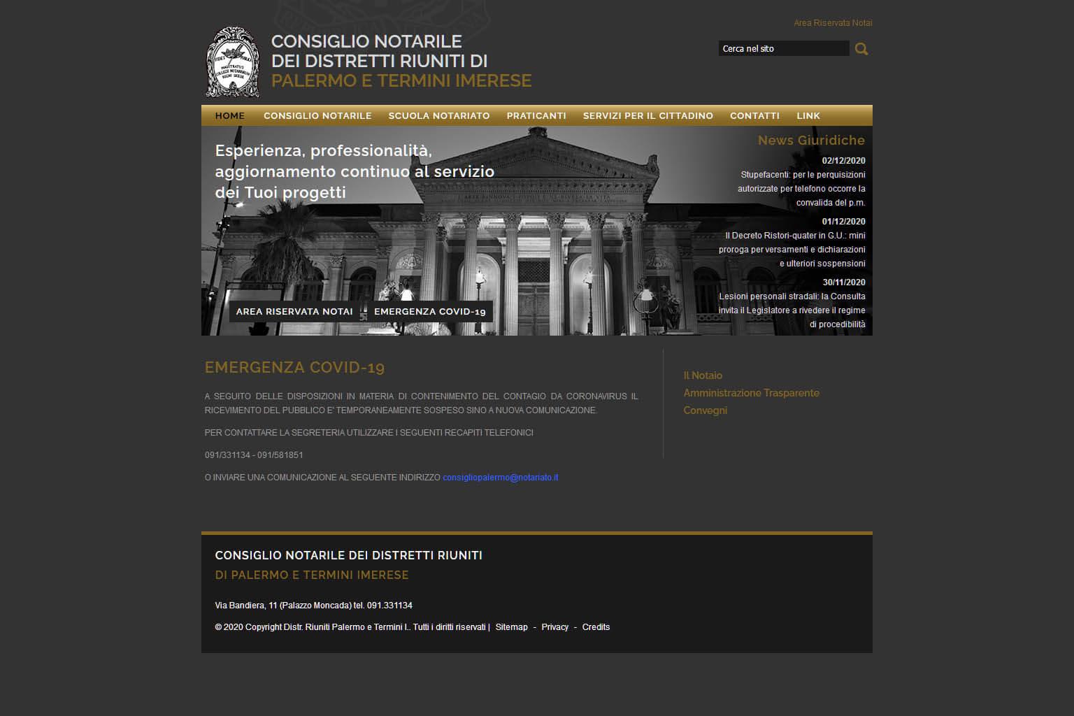 NotaioMyWeb | Consiglio Notarile Palermo