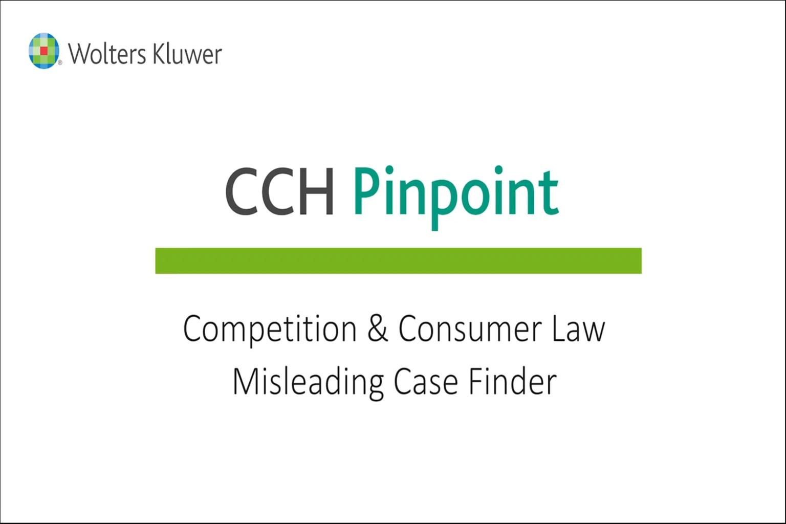Misleading Case Finder