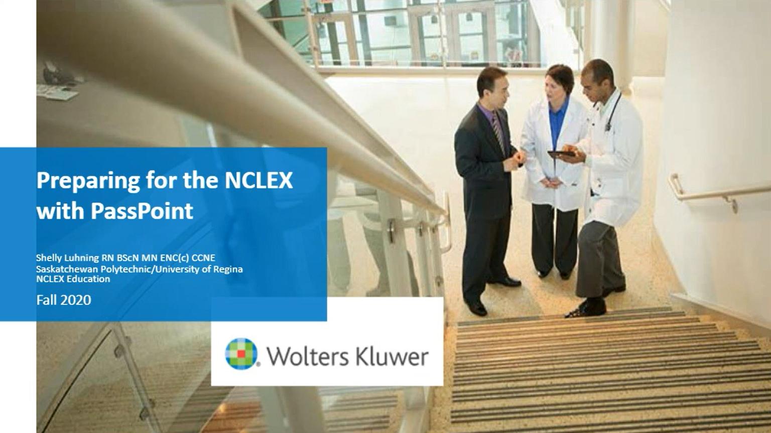 Screenshot of Preparing for the NCLEX® using PassPoint video
