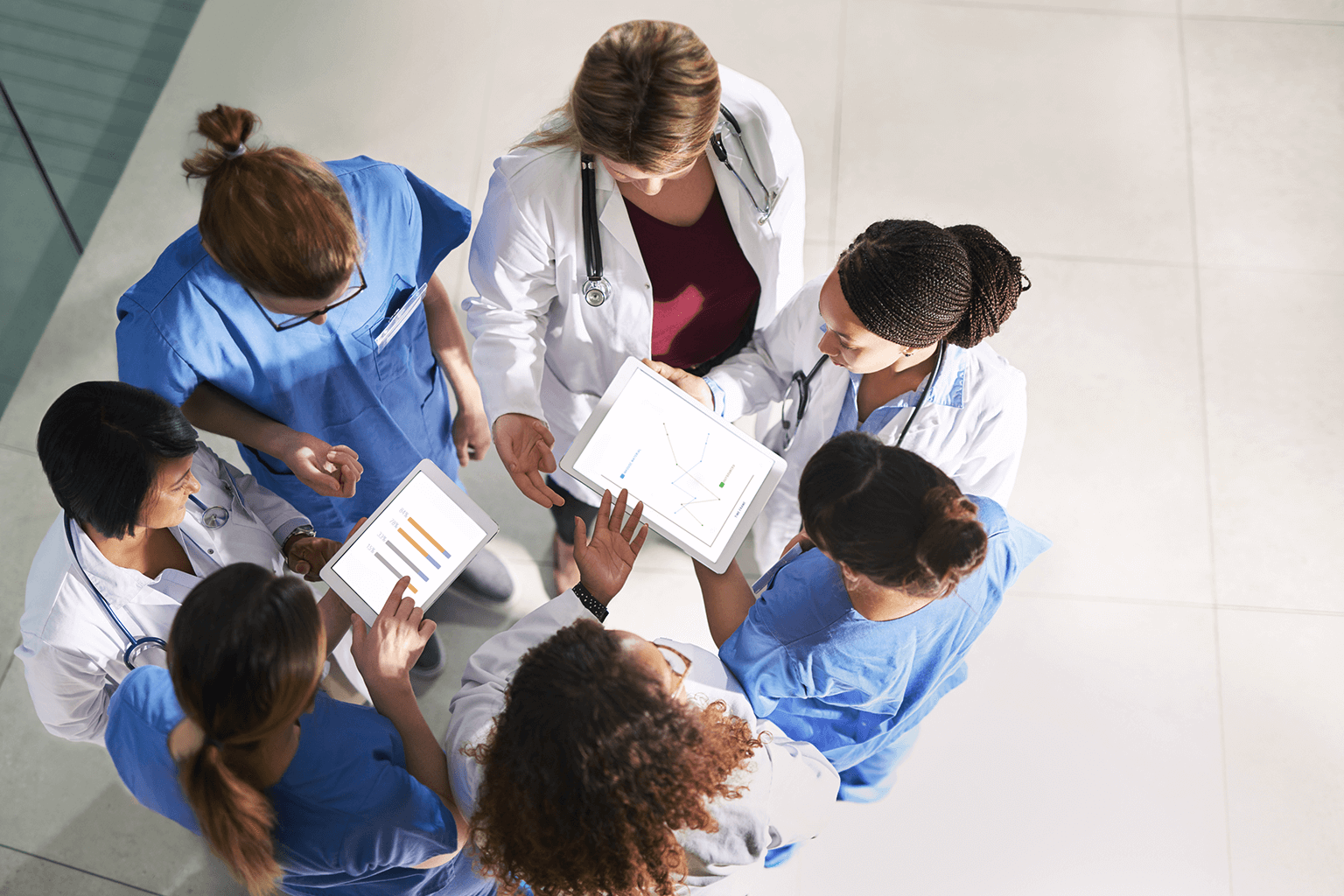 group-of-clinicians-reviewing-results