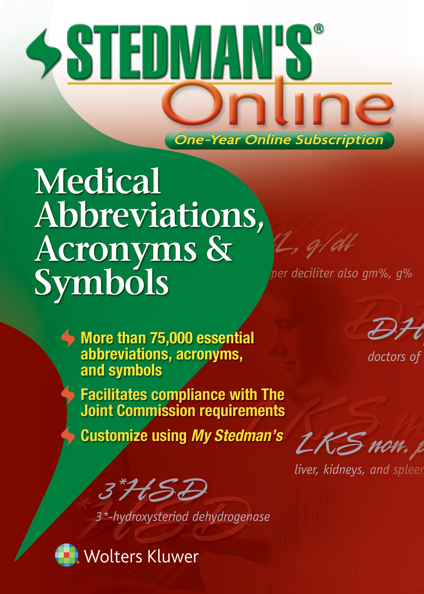 Stedman's Medical Abbreviations, Acronyms & Symbols book cover