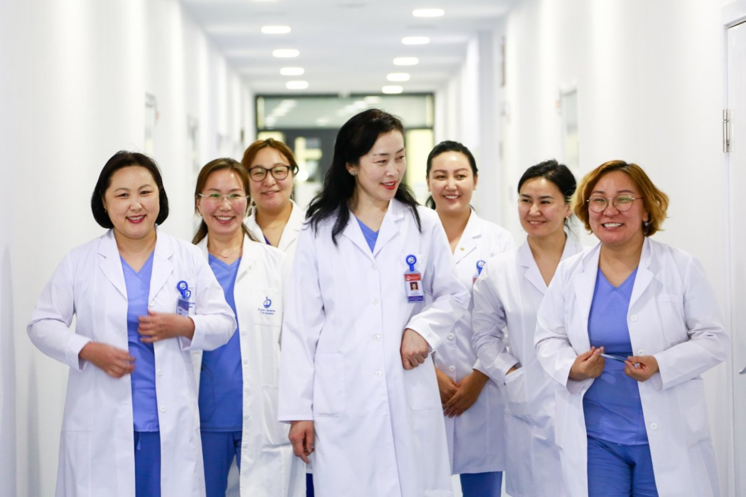 Mongolia Ministry of Health clinicians