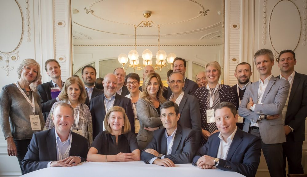 Image Wolters Kluwer Legal & Regulatory Leadership Switzerland, 2016 Stacey Caywood front row