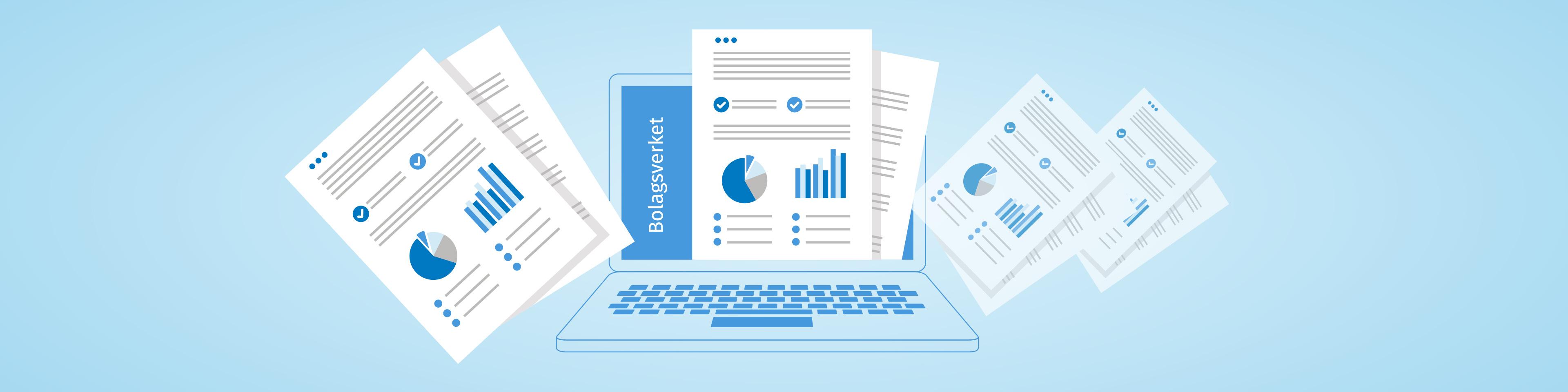 digital inlämning till bolagsverk
