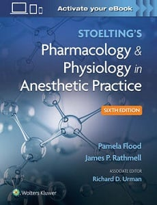 Stoelting's Pharmacology & Physiology in Anesthetic Practice book cover