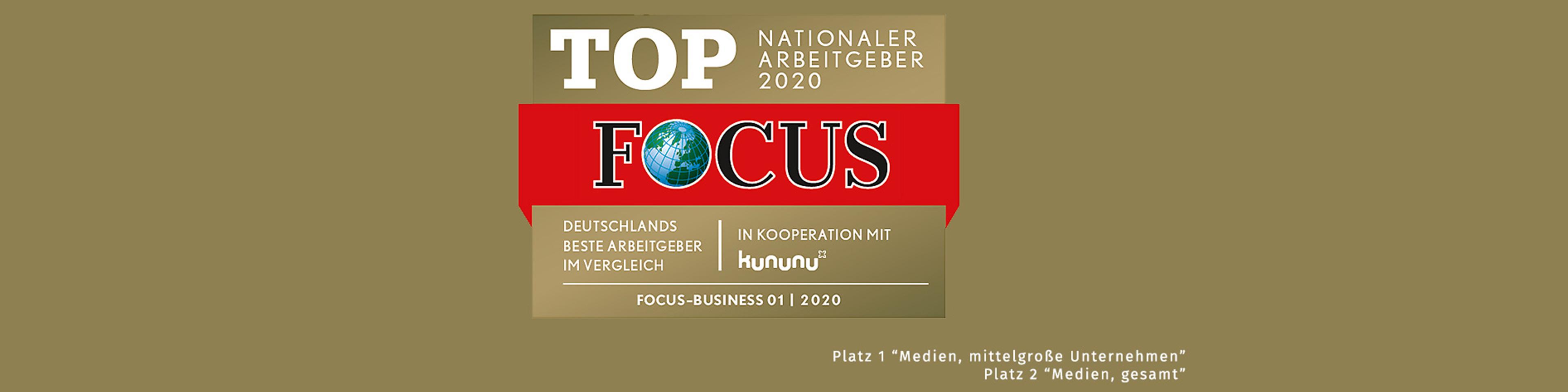 Wolters Kluwer Deutschland ist Top-Arbeitgeber 2020