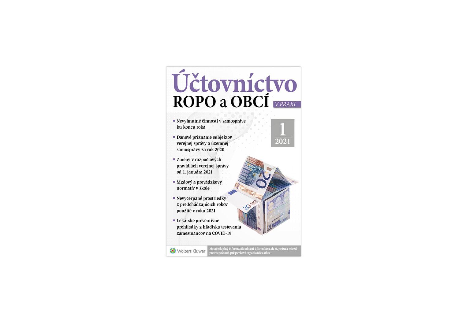 Účtovníctvo ROPO