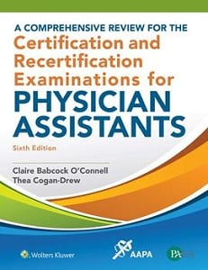 A Comprehensive Review for the Certification and Recertification Examinations for Physician Assistants book cover